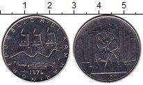 Изображение Монеты Европа Сан-Марино 100 лир 1976 Сталь UNC-