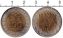 Изображение Монеты Европа Португалия 100 эскудо 1995 Биметалл UNC-