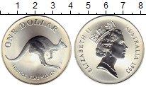 Изображение Монеты Австралия и Океания Австралия 1 доллар 1993 Серебро UNC-