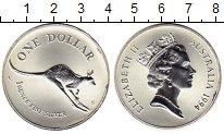 Изображение Монеты Австралия 1 доллар 1994 Серебро UNC-