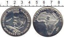 Изображение Монеты Чад 300 франков 1970 Серебро UNC-