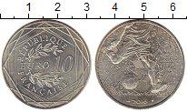 Изображение Монеты Франция 10 евро 2016 Серебро UNC