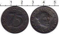 Изображение Монеты Германия : Нотгельды 75 пфеннигов 1920 Цинк UNC-