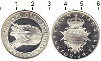 Изображение Монеты Европа Мальтийский орден 9 тари 1970 Серебро Proof-