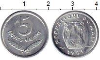 Изображение Монеты Африка Мали 5 франков 1961 Алюминий UNC-