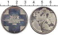 Изображение Монеты Швейцария 20 франков 1996 Серебро Proof- Сказки Швейцарии