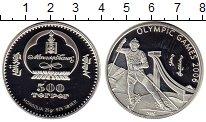 Изображение Монеты Монголия 500 тугриков 2006 Серебро Proof Олимпийские игры, лы