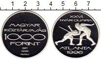 Изображение Монеты Европа Венгрия 1000 форинтов 1995 Серебро Proof