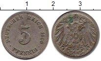 Изображение Монеты Европа Германия 5 пфеннигов 1909 Медно-никель XF