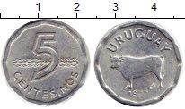 Изображение Монеты Уругвай 5 сентесим 1977 Алюминий UNC-