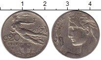 Изображение Монеты Италия 20 чентезимо 1912 Медно-никель XF