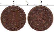Изображение Монеты Нидерланды 1 цент 1906 Бронза XF