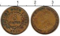 Изображение Монеты Западная Африка 3 пенса 1936 Латунь XF