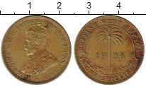 Изображение Монеты Западная Африка 1 шиллинг 1936 Латунь XF