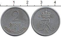Изображение Монеты Дания 2 эре 1970 Цинк XF+