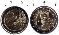 Изображение Мелочь Греция 2 евро 2018 Биметалл UNC 75 лет со дня смерти