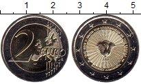 Изображение Мелочь Греция 2 евро 2018 Биметалл UNC 70 лет  союза  остро