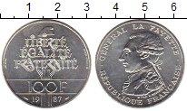 Изображение Монеты Франция 100 франков 1987 Серебро UNC