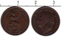 Изображение Монеты Европа Великобритания 1/3 фартинга 1827 Медь VF+