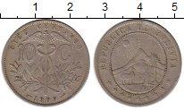 Изображение Монеты Боливия 10 сентаво 1909 Медно-никель XF-