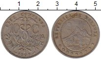 Изображение Монеты Южная Америка Боливия 10 сентаво 1909 Медно-никель XF-