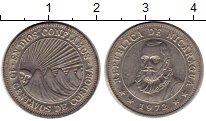 Изображение Монеты Никарагуа 10 сентаво 1972 Медно-никель XF