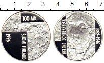 Изображение Монеты Европа Финляндия 100 марок 1996 Серебро Proof