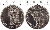 Изображение Монеты Европа Финляндия 100 марок 2000 Серебро UNC