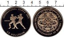 Изображение Монеты Бутан 25 нгултрум 1984 Медно-никель Proof