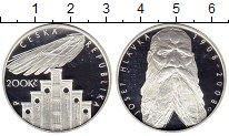 Изображение Монеты Европа Чехия 200 крон 2008 Серебро Proof