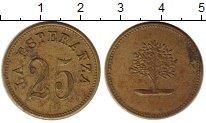 Изображение Монеты Гватемала Жетон 0 Латунь XF Плантационный жетон