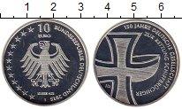 Изображение Монеты Германия 10 евро 2015 Серебро Proof- 150 лет Немецкому об