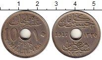 Изображение Монеты Африка Египет 10 миллим 1917 Медно-никель XF