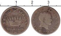 Изображение Монеты Италия 10 сольди 1811 Серебро VF