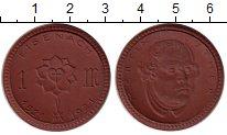 Изображение Монеты Германия : Нотгельды 1 марка 1921 Фарфор UNC