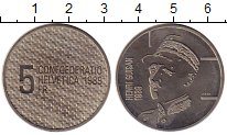 Изображение Монеты Швейцария 5 франков 1989 Медно-никель UNC-