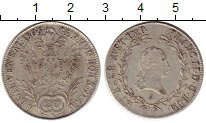 Изображение Монеты Европа Австрия 20 крейцеров 1806 Серебро XF