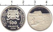 Изображение Монеты Дагомея 100 франков 1971 Серебро Proof-