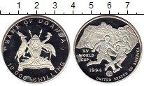 Изображение Монеты Африка Уганда 10000 шиллингов 1994 Серебро Proof-