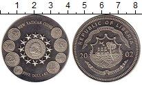 Изображение Монеты Африка Либерия 5 долларов 2002 Медно-никель UNC-