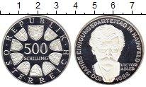 Изображение Монеты Европа Австрия 500 шиллингов 1988 Серебро Proof-