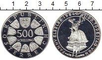 Изображение Монеты Европа Австрия 500 шиллингов 1984 Серебро Proof-