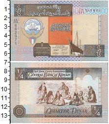 Изображение Банкноты Кувейт 1/4 динара 1994  UNC