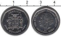 Изображение Монеты Ямайка 5 долларов 1995 Медно-никель UNC-