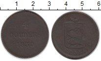 Изображение Монеты Великобритания Гернси 4 дубля 1830 Медь VF