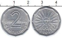 Изображение Монеты Южная Америка Уругвай 2 сентесимо 1977 Алюминий XF