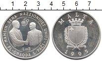 Изображение Монеты Европа Мальта 5 лир 1995 Серебро Proof-
