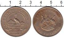 Изображение Монеты Уганда 2 шиллинга 1966 Медно-никель XF