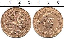 Изображение Монеты Германия : Нотгельды 1 золотая марка 1923 Латунь UNC-