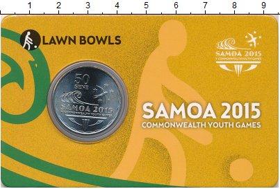 Изображение Монеты Самоа 50 сене 2015 Медно-никель UNC